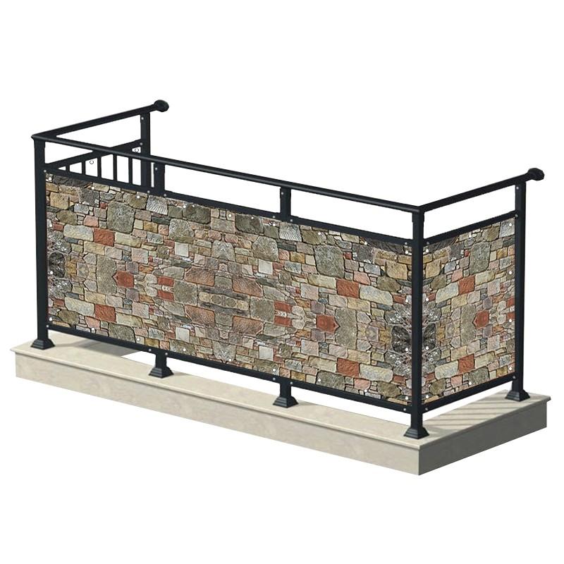 Kamień - osłona balkonowa,...