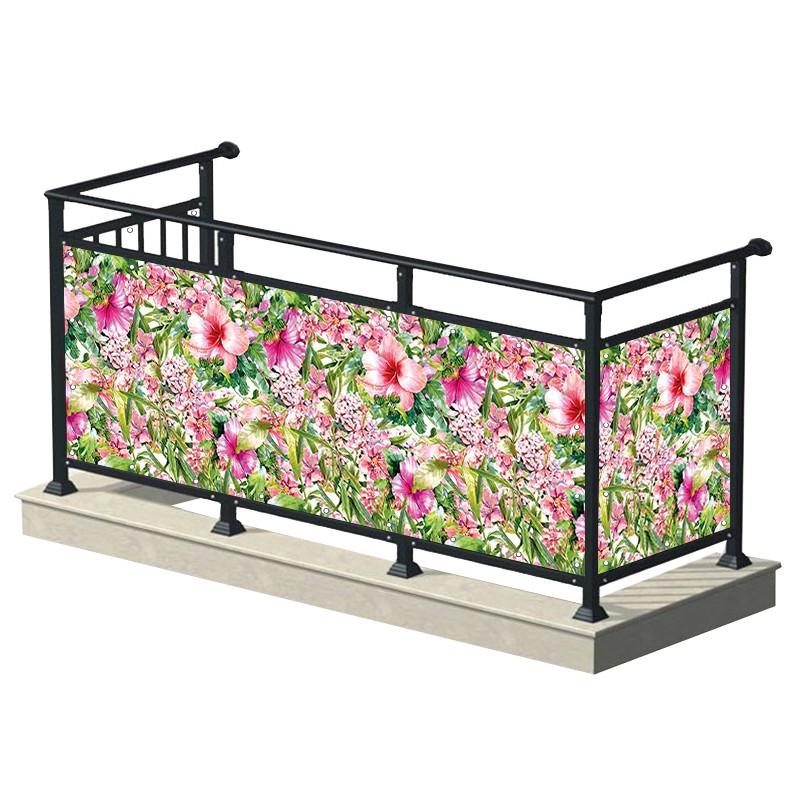 Różowy ogród - osłona...