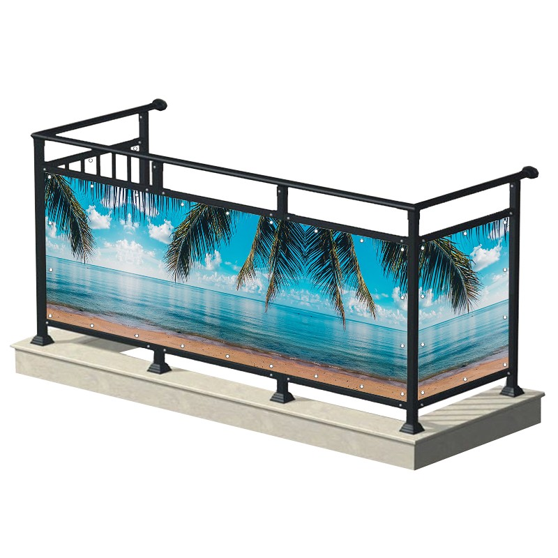 Tropikalna plaża - osłona...