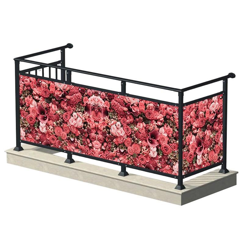 Eleganckie kwiaty - osłona...