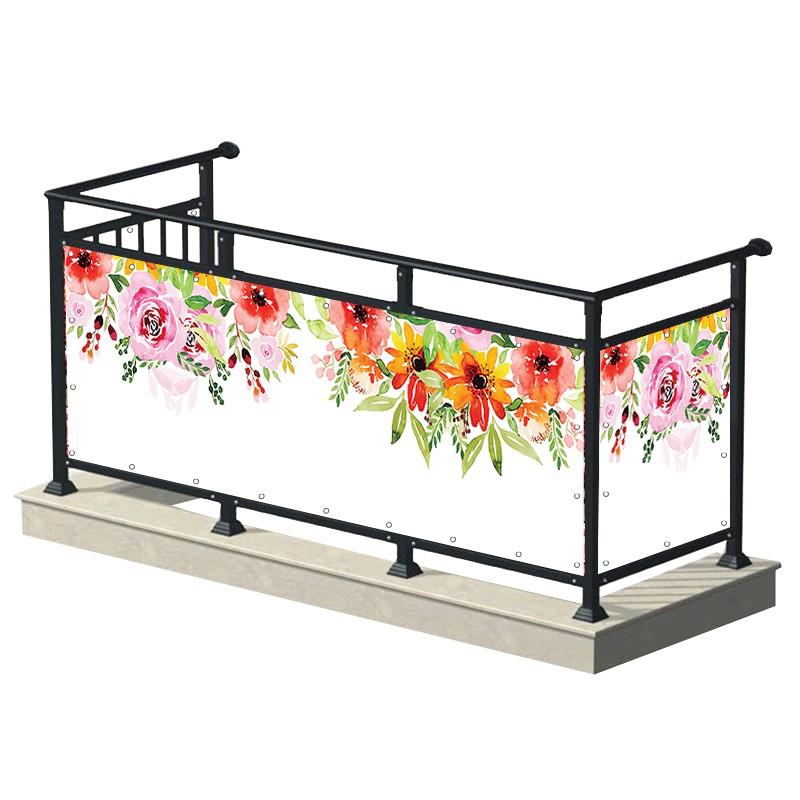 Kwiaty malowane - osłona...