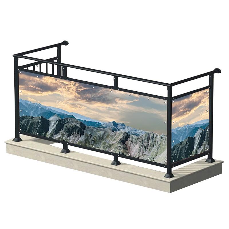 Góry - osłona balkonowa,...
