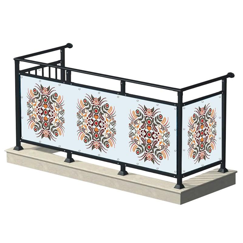 Folklor - osłona balkonowa,...