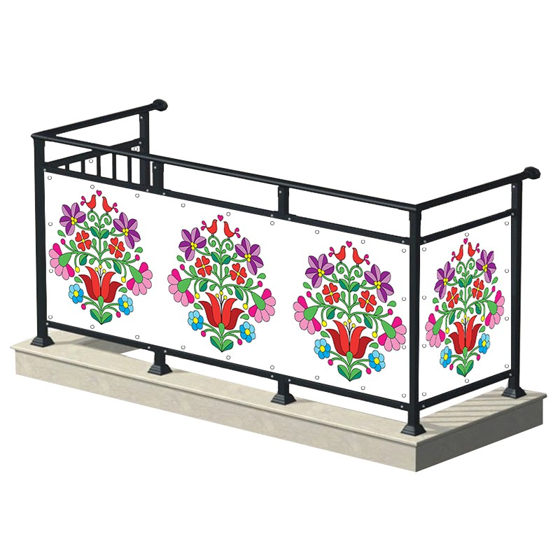 Folk - osłona balkonowa,...