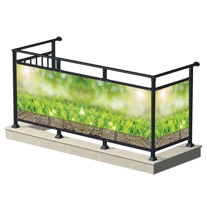 Trawa - osłona balkonowa,...