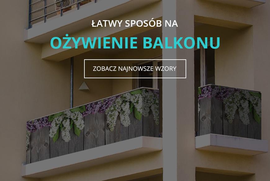 0396af9386e3d Dea osłony - osłony balkonowe i tarasowe z nadrukiem