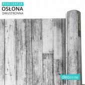 """Realizacja osłony dwustronnej ze wzoru """"Szare deski"""" https://www.deaoslony.pl/drewno/288-521-szare-deski-oslona-balkonowa-tarasowa.html  #osłona #oslona #balkon #osłonabalkonowa #osłonatarasowa #osłonanapłot"""