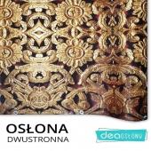 Dziś bardziej w wersji glamour - osłona balkonowa dwustronna Osłonę znajdziesz tutaj https://www.deaoslony.pl/abstrakcje/342-683-zloty-ornament-oslona-balkonowa-tarasowa.html#/1-material-material_banerowy_jednostronny  #balkony #osłonabalkonowa #osłonybalkonowe #matanabalkon #osłonanaogrodzenie #osłonaogrodzeniowa  #balkon #ogrodzenie #płot #osłonanapłot #ornament #złoty #złotybalkon