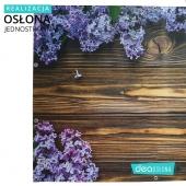 Realizacja osłony jednostronnej pełnej - bez na drewnie https://www.deaoslony.pl/kwiaty-i-krzewy/236-383-bez-na-drewnie-oslona-balkonowa-tarasowa.html
