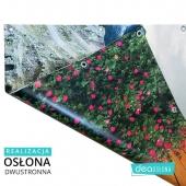 Tym razem realizacja osłony dwustronnej z różnymi nadrukami 🙂 Zapraszamy na www.deaoslony.pl  #osłonabalkonowa #balkon #osłona #oslona #matanabalkon #balkon